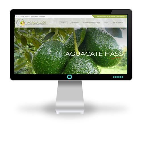Pagina web Agroalcos
