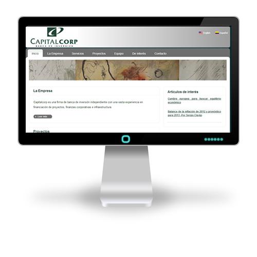 Pagina web Capital Corp