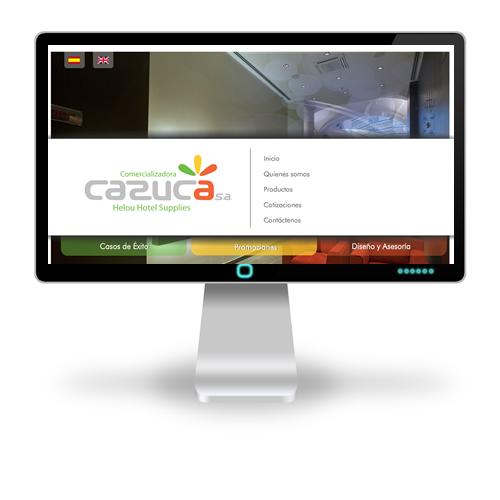 Pagina web Cazuca