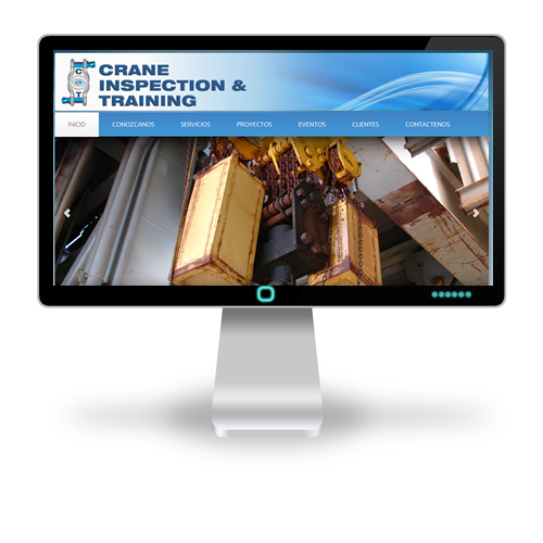 Pagina web Crane Inspection & Training