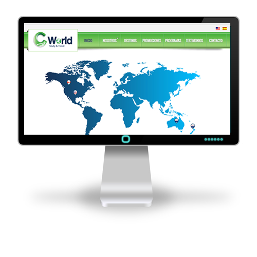 Pagina web CWorld