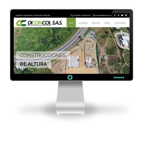 Pagina web DICONCOL