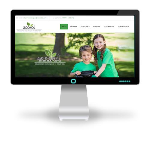 Pagina web ECOSOL