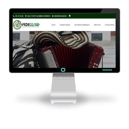 Pagina web Fedecesar