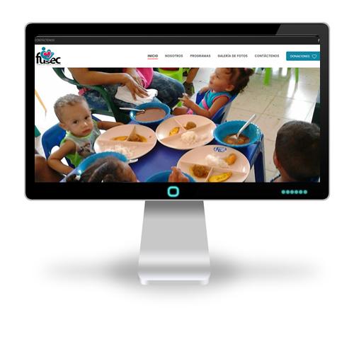Pagina web Fundación Social El Camino