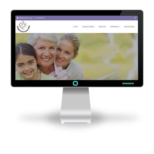 Pagina web Fundación Niña Mujer y Familia