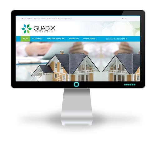 Pagina web Guadix Inversiones