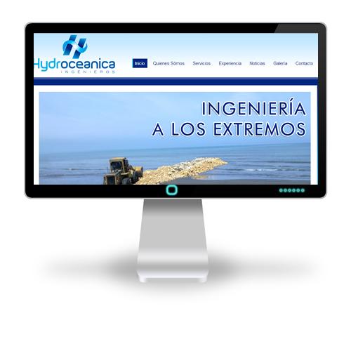 Pagina web Hydroceanica