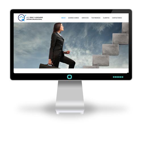 Pagina web JC Frias y Asociados