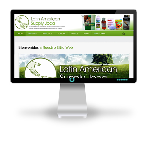 Pagina web Latin American Supply Joca