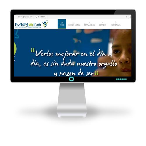 Pagina web Mejora IPS