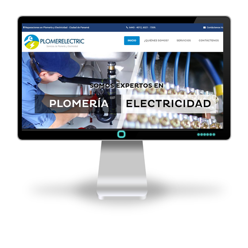 Pagina web Plomerelectric