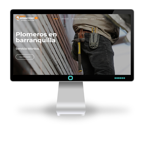 sitio web de Servireparaciones JL